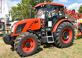 New tractor at the fair