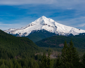 Mt. Hood From Lolo Pass in Oregon 2