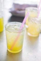 Freshly squeezed sugar cane juice
