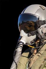 Military fighter pilot uniform