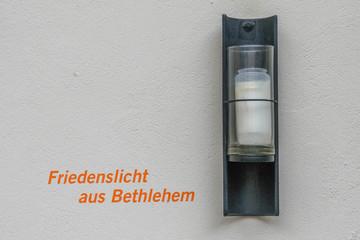 Friedenslicht – Bethlehem