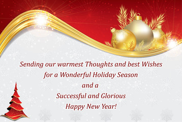 Search photos business greeting card business new year greeting card for customers clients business partners and employees copy m4hsunfo