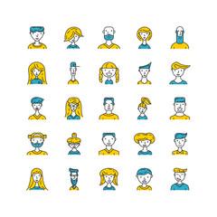 Vector people avatar.