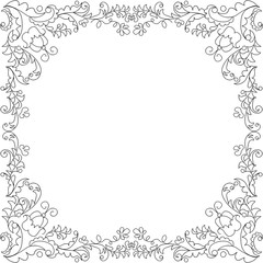 Vector template for cards.