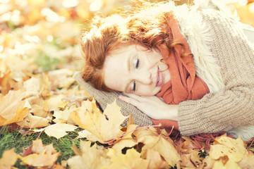 schlafen im herbst