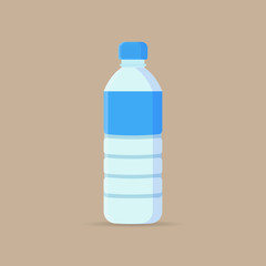 Water Bottle flat icon.