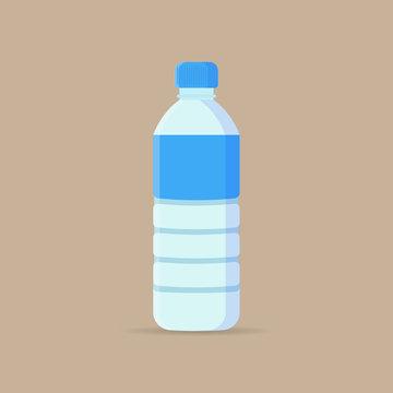 Water Bottle flat icon.