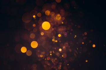 Obraz gold bokeh background - fototapety do salonu