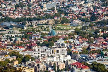 Panoramic view of Tbilisi, The Republic of Georgia