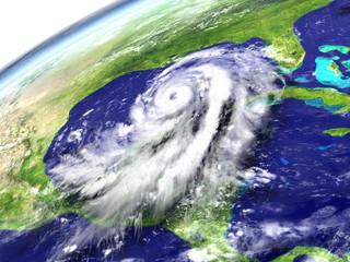 Hurricane Matthew near Florida