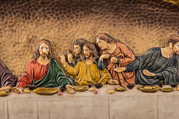 color picture of the Last Supper