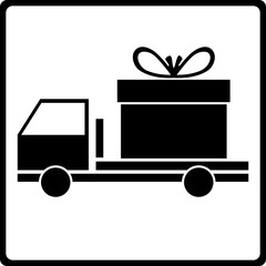 Icon of free delivery