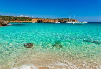 Meer Bucht Boote Wasser Türkis