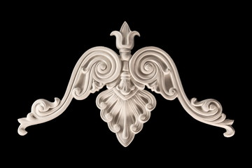 gypsum products, stucco weave, pattern, ornament on a black background