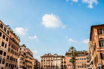 La place d'espagne à Rome
