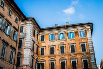 Dans les rues de Rome