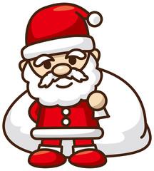 サンタクロースのイメージイラスト