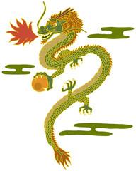 ドラゴン(龍)のイメージイラスト