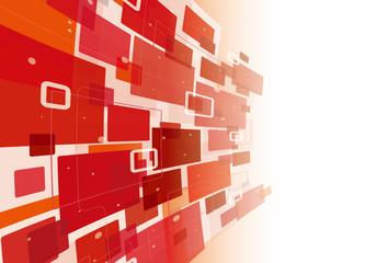 背景 デジタル(赤)