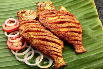 Fish fry from Indian cuisine.
