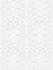 Ornamental Seamless pattern for watermark.