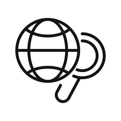 global research vector illustration design
