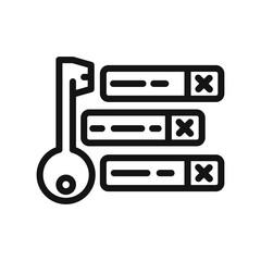 keywording tool vector illustration design