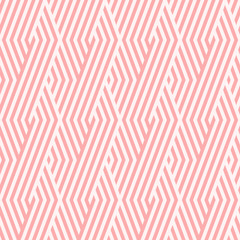 Chevron stripe pattern seamless pink two tone colors. Fashion design pattern seamless . Geometric chevron stripe abstract background vector.