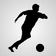 soccer player icon. soccer player sign