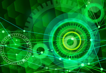 network background green