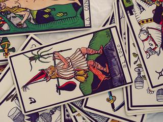 Tarot Cards Mystery Future Reading