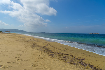 One of the most beautiful beaches in the world in Naxos island,