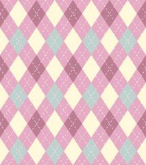 Argyle vector seamless pattern