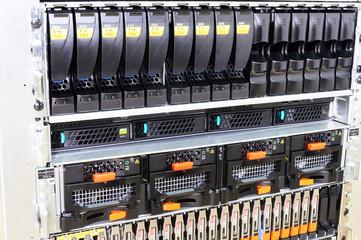 Rack mounted equipment