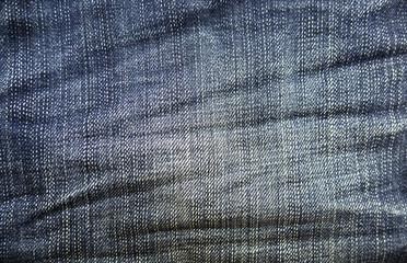 Old Denim jeans fabrics background