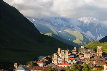Village of Ushguli, Georgia