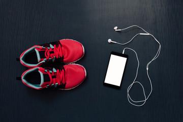 Woman's running equipment