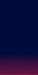Blauer Hintergrund mit lila Pixeln