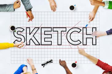 Sketch Design Designer Creative Idea Concept