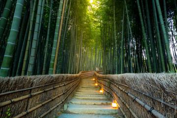 Poster de jardin Bambou Arashiyama Bamboo Forest