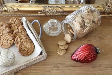 mixed homemade Christmas cookies
