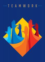 design for teamwork concept