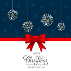 Merry Christmas bow