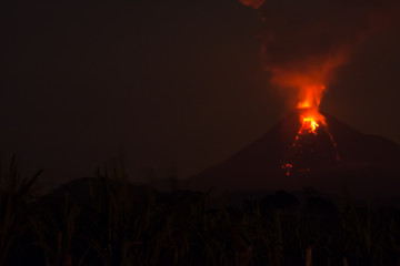 volcan of colima sep 06 2016