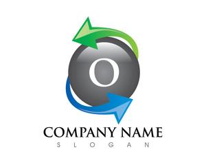 O Letter Exchange Logo