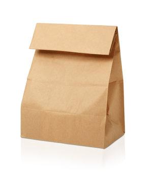 茶色の紙袋/ランチボックス