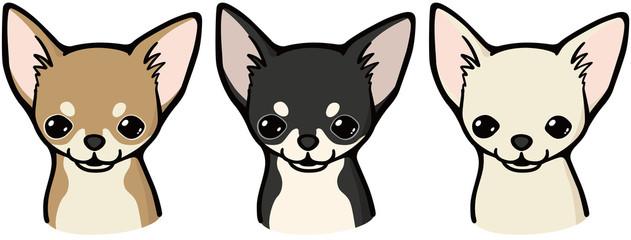 チワワ(犬のイラスト)
