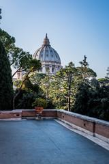 Le dôme de la Basilique Saint-Pierre du Vatican