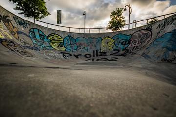 At the skatepark