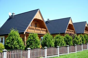 Fototapeta The wooden holiday houses obraz